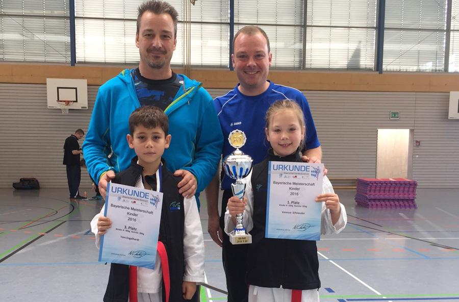 Bayerische Meisterschaft Kinder und Schüler 2016 in Waldkraiburg