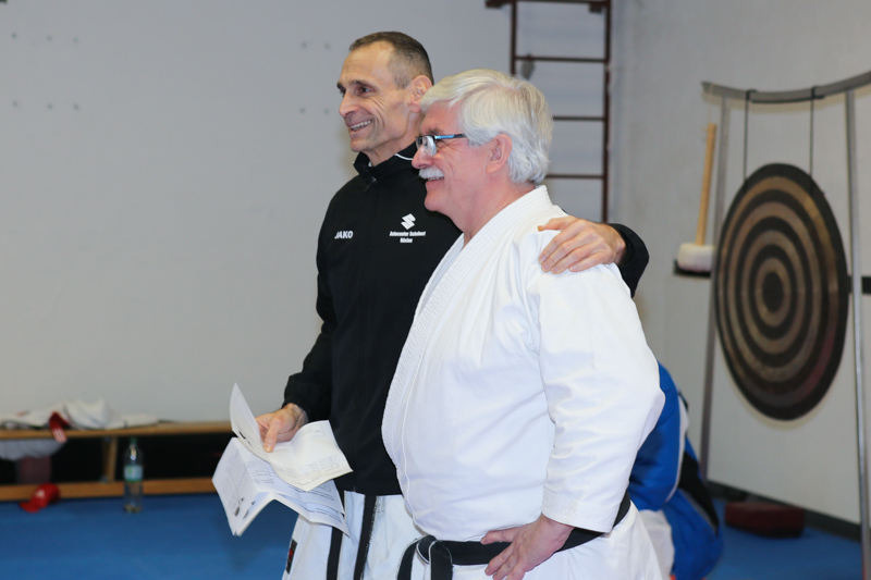 Kata & Kata-Bunkai Lehrgang Harald Strauss und Joachim Merkl