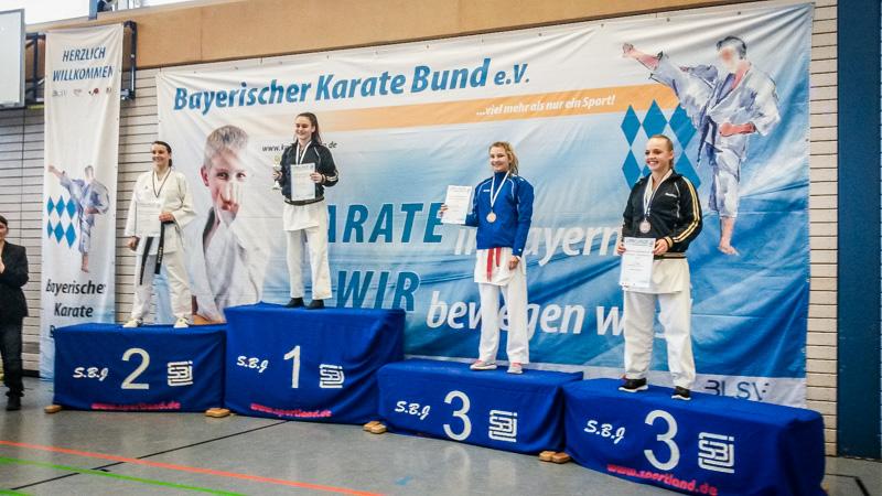 Bayerische Meisterschaft  am 18.02.2017 und 19.02.2017 in Waldkraiburg