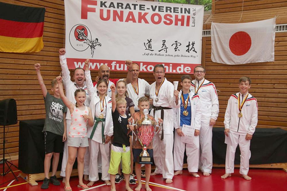 Grandioser Erfolg beim Funakoshi-Cup in Lauf an der Pegnitz