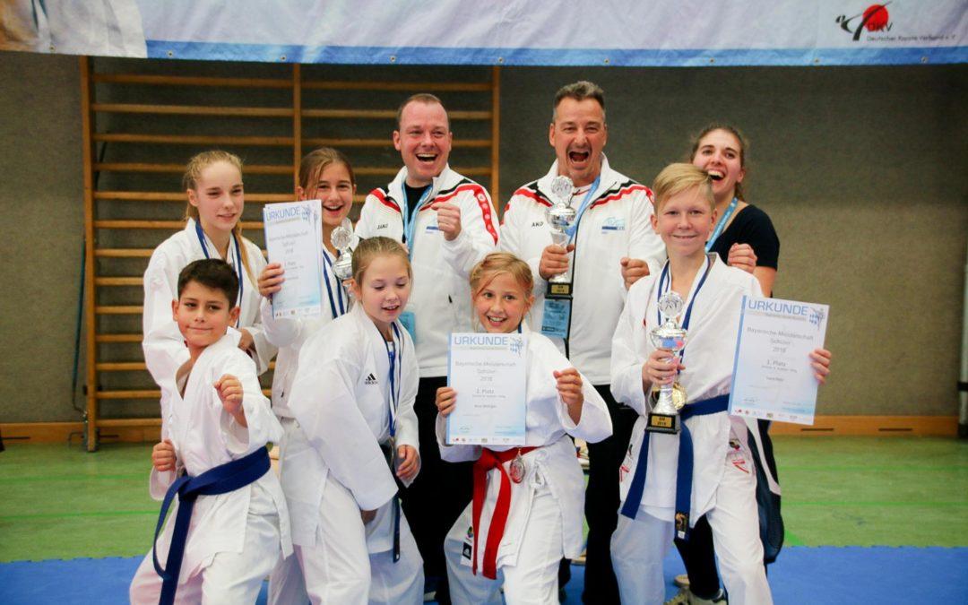 Bayerische Meisterschaften der Kinder und Schüler 2018 in Ingolstadt