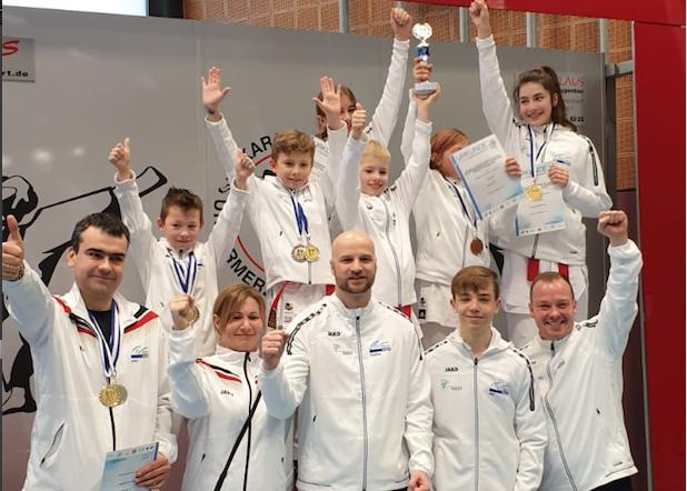 Offene Bezirksmeisterschaft Unterfranken und Newcomer Karate Turnier 2019 in Ebern