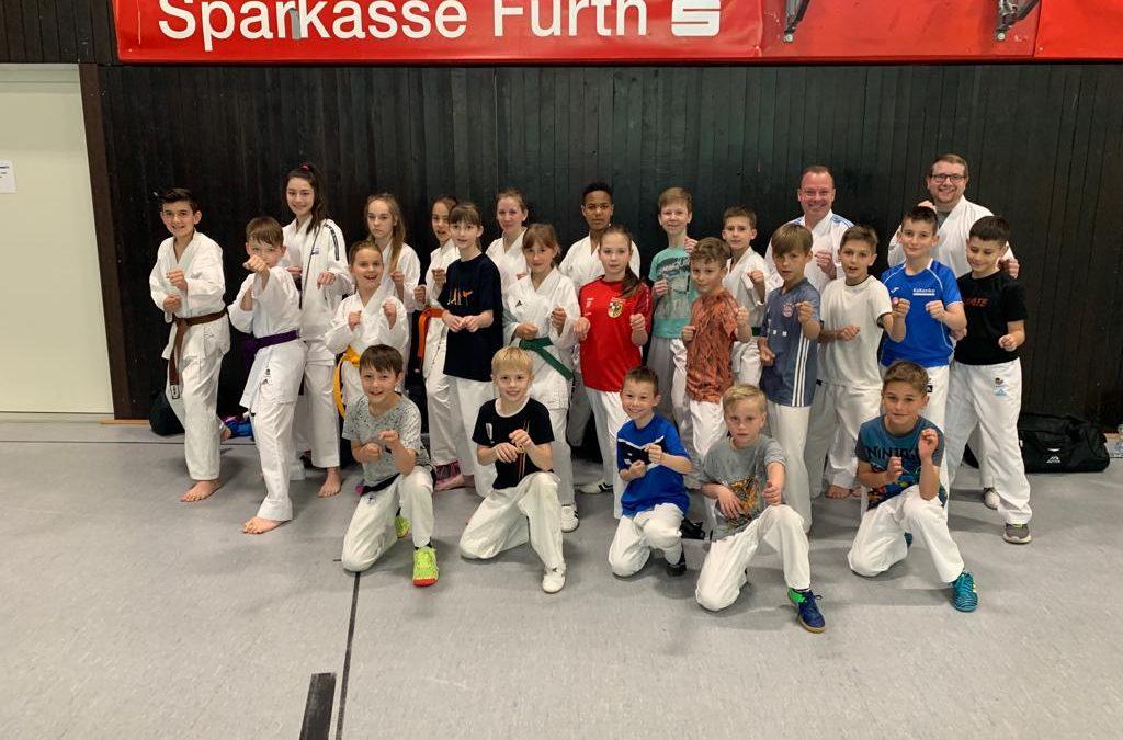 3. Trainingscamp-Wochenende mit dem KC Hersbruck