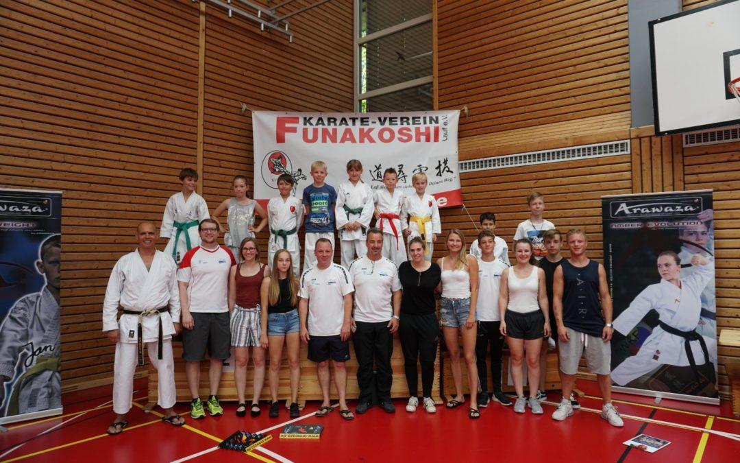 Wanderpokal beim Funakoshi-Cup 2019 erfolgreich verteidigt